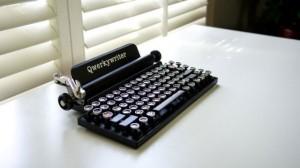 iPad打字机