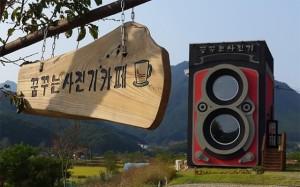 古董相机里的咖啡馆