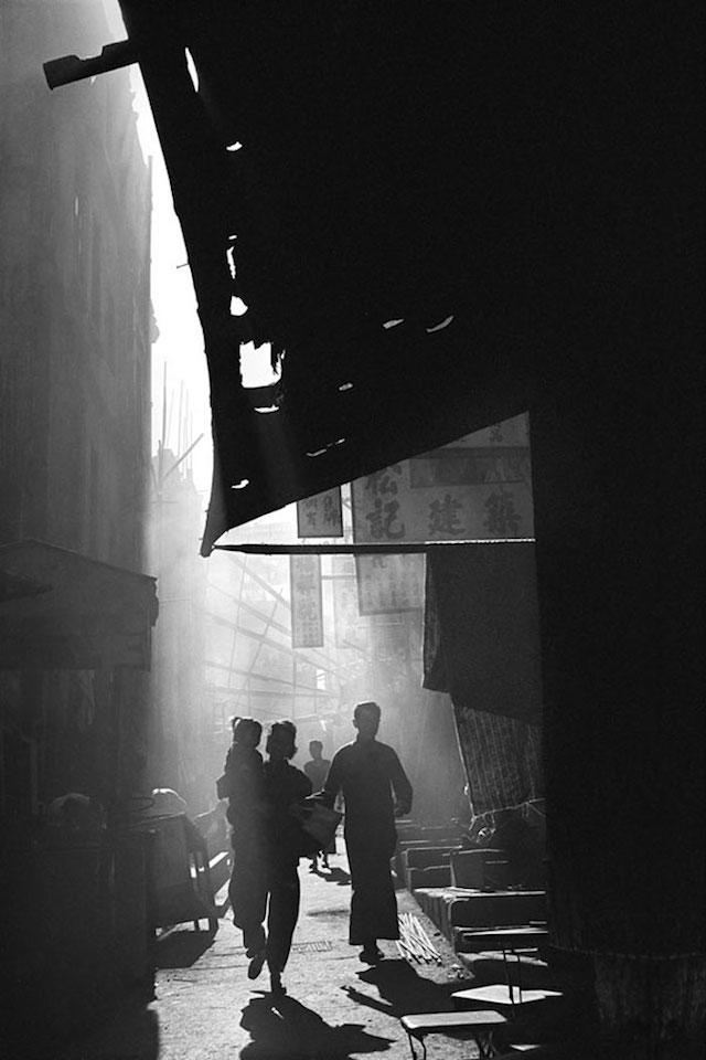 50年代的香港