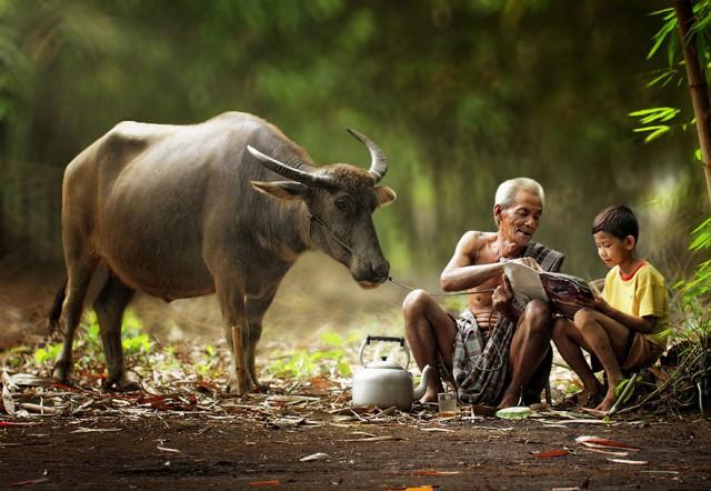 印尼乡村生活