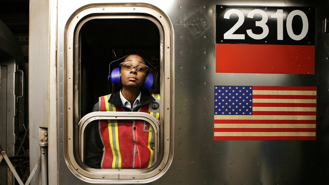 纽约地铁司机