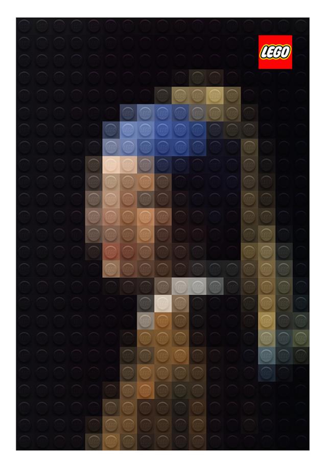 LEGO顶级艺术