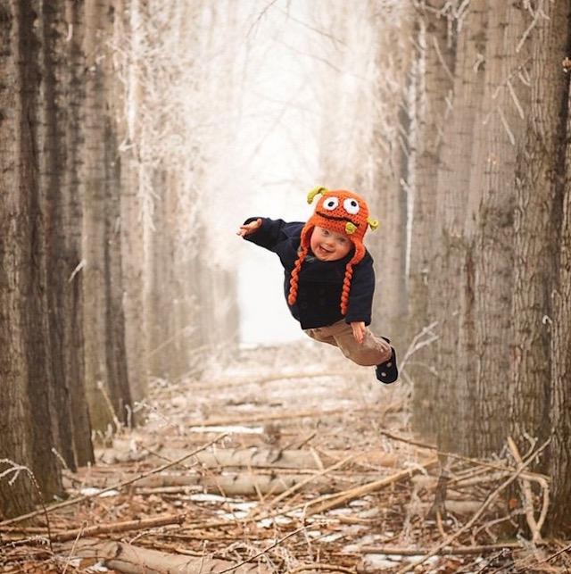 会飞的孩子