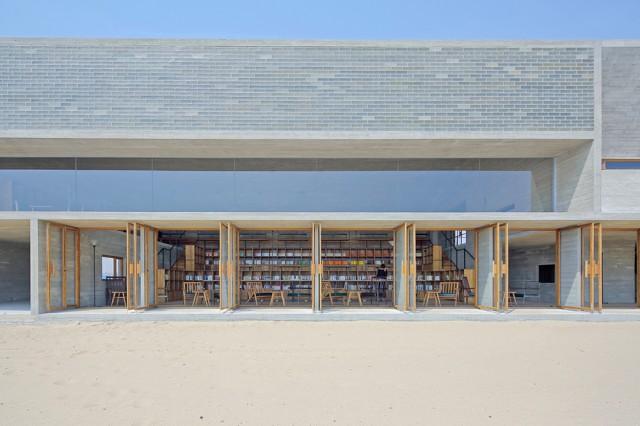 面朝大海的图书馆
