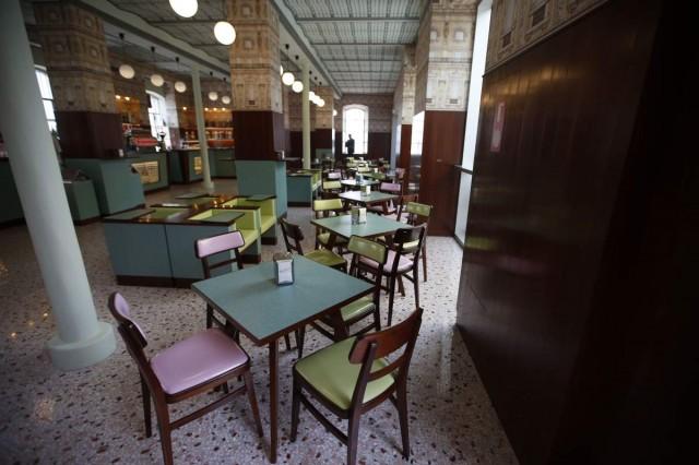 米兰的复古Bar