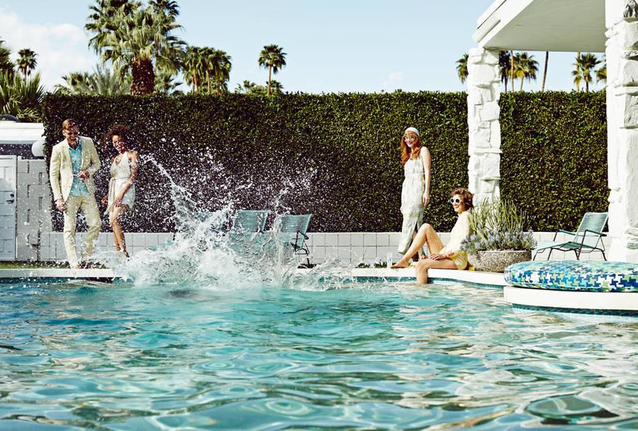 夏日泳池派对