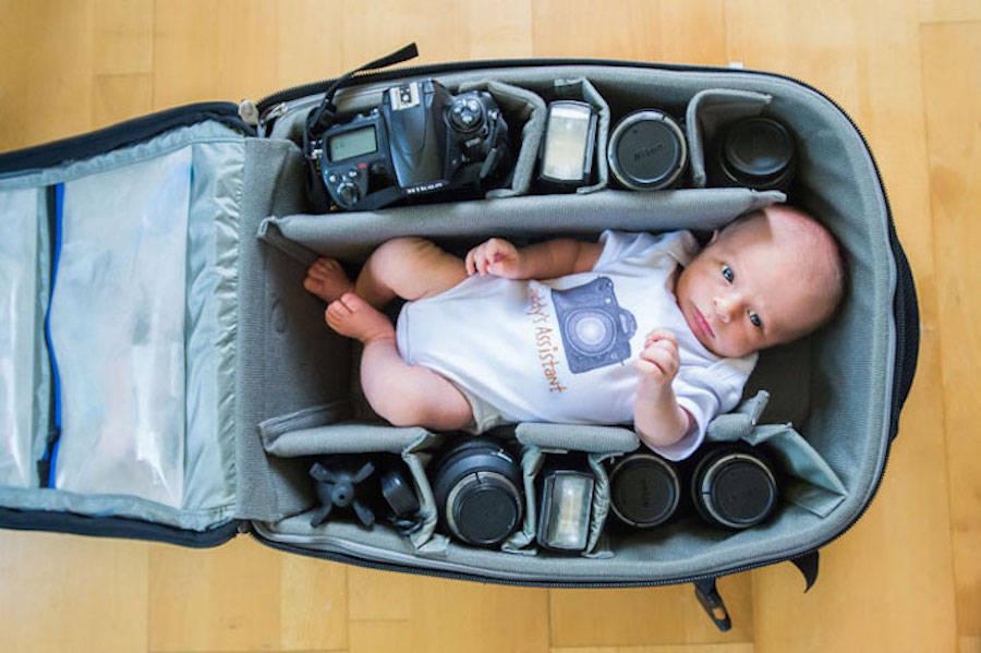 摄影师的宝贝