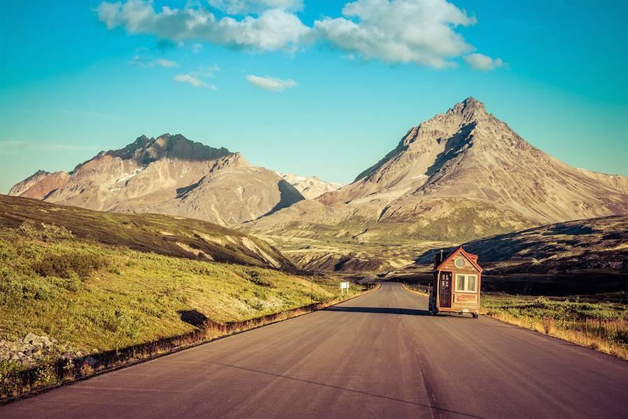 拖着小屋去旅行
