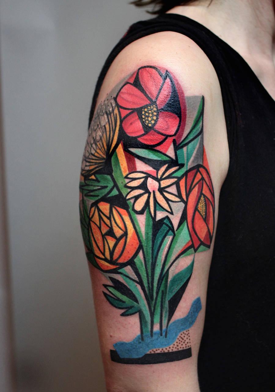 Cubist Tattoos