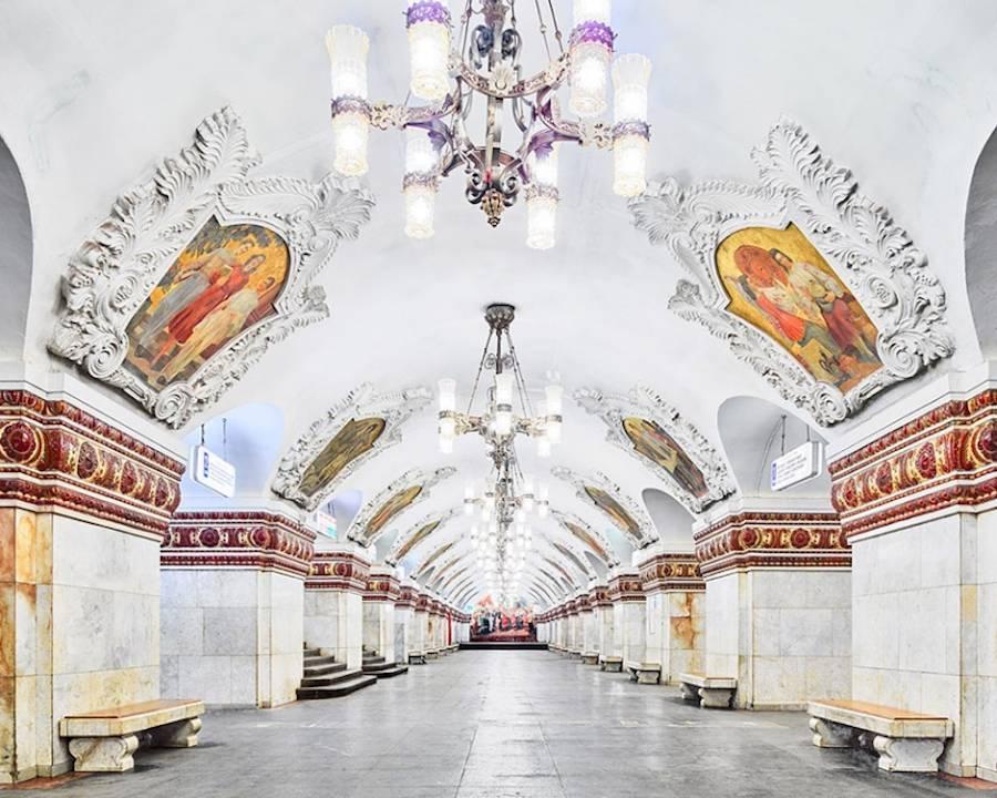 俄罗斯地铁站