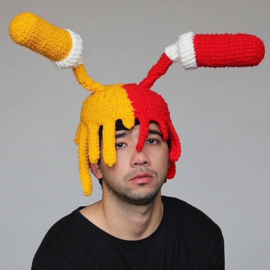 奇葩的帽子